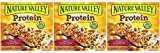 Nature Valley Chewy Granola Bar, Protein, Gluten Free, Salted Caramel Nut, 5 Bars (3 Boxes)