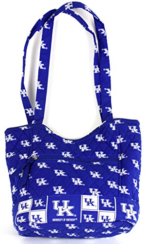 Kentucky Wildcats Tote Bag - bagamore collection UNIVERSITY OF KENTUCKY SCOOP TOTE BAG-KENTUCKY WILDCATS SCOOP TOTE BAG-KENTUCKY WILDCATS QUILTED BAG