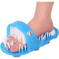 Siliconen antislip Voet Borstel Plastic Bad Douche Massager Slippers Puimsteen Voet Scrubber Verwijderen Dode Huid…