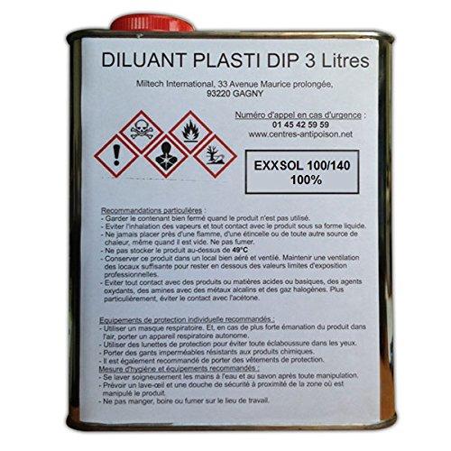 Plasti Dip Diluant bidon 3 litres PERFORMIX