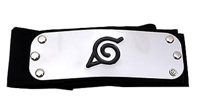cosplay hoja ninja de banda para la cabeza