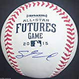 SEAN NEWCOMB SIGNED 2015 FUTURES GAME OMLB BASEBALL LOS ANGELES ANGELS PROOF J1