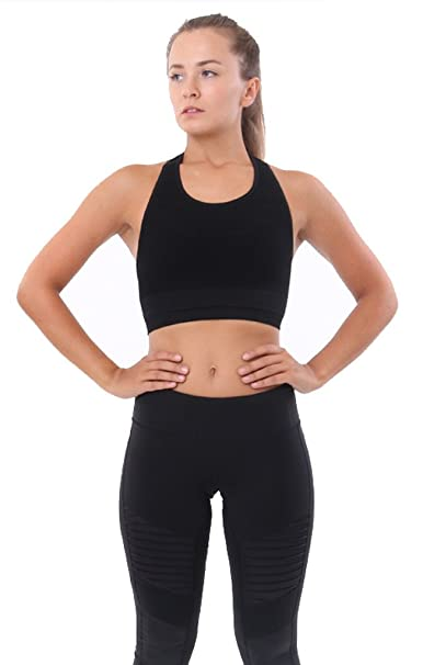 Alo Yoga Womens Power Crop at Amazon Womens Clothing store