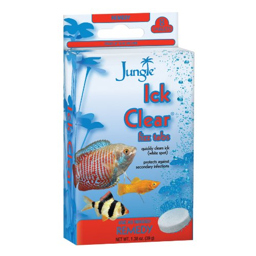 Jungle TB625W Tank Buddies Ick Clear Tablets, 8-Count