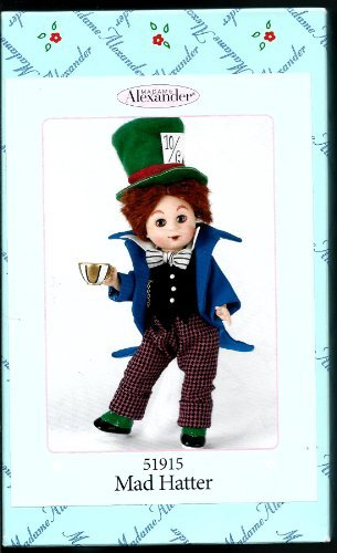 8 Collection Doll Storyland - Madame Alexander, Mad Hatter, Alice in Wonderland Collection, Storyland Collection - 8