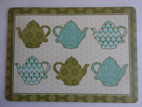 Paula Deen Teapot Placemat (Paula Deen Green)