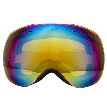 Road&Cool Esquí Gafas De Sol Antiniebla para Hombres ...