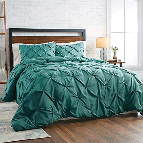 Better Homes Gardens 3-Piece Pintuck Comforter Set, King, Teal
