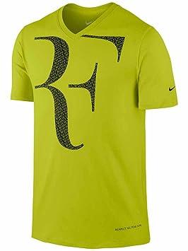 super especiales Precio de fábrica 2019 auténtica venta caliente Nike Premier RF Roger Federer camiseta naranja - L: Amazon ...