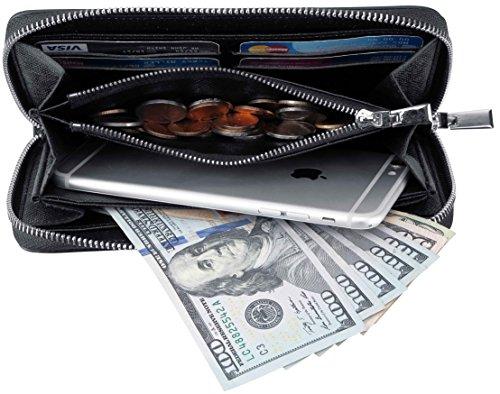 Zippered Womens Wallet - 9