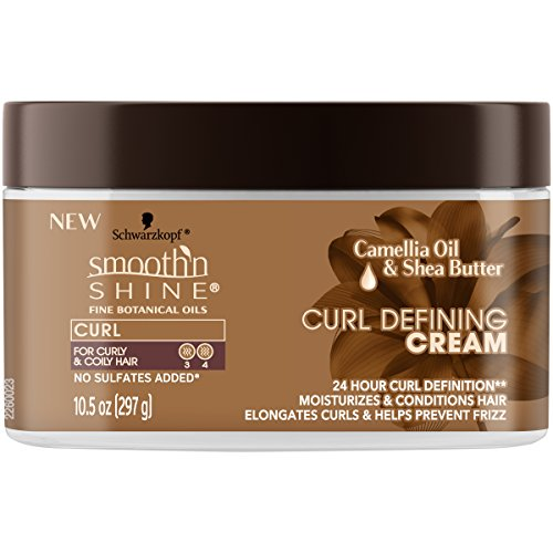 - Smooth 'n Shine Curl Defining Cream for Curly Hair, 10.5 Ounces