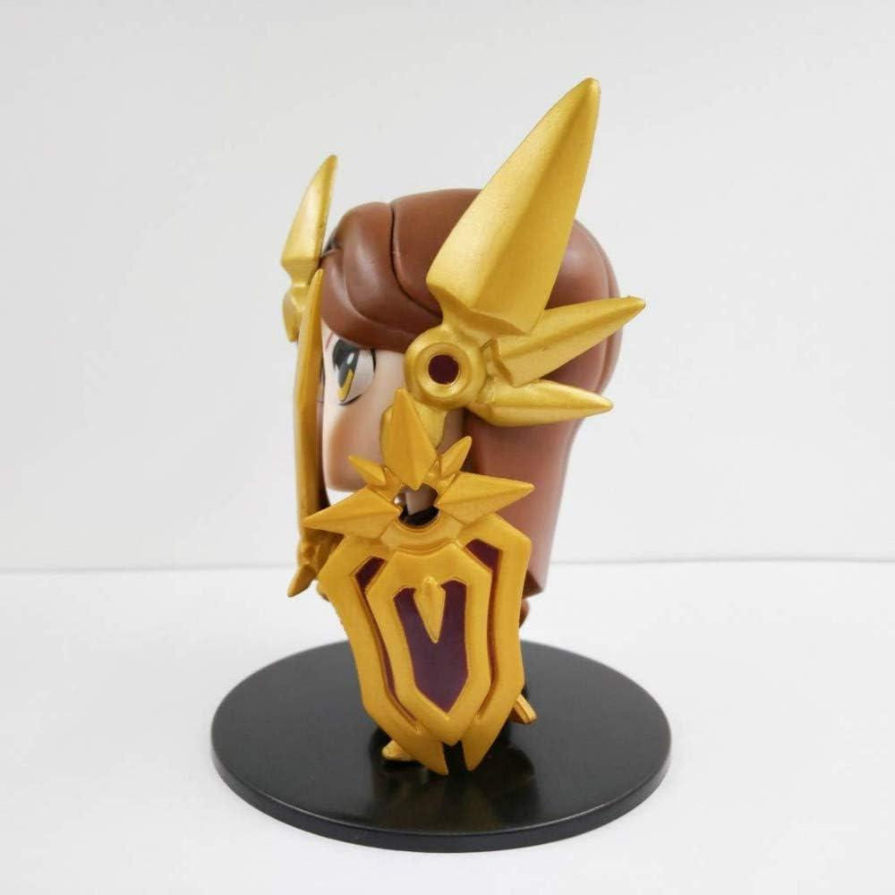 SKP Lol League Legends Leona la d/éesse de laube Figurine en PVC Cadeau Statue Cadeau D/écoration de Bureau Maison