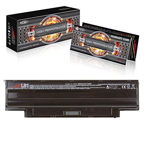 LB1 High Performance 6600 mAh/11.1V Battery for Dell Insp...
