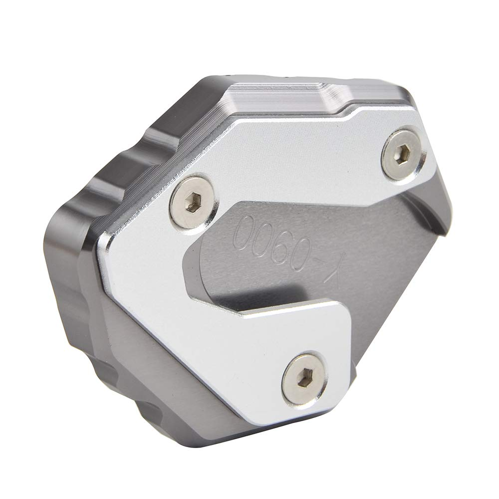 H2Racing CNC Moto Aluminium Agrandir Support de b/équille lat/érale pour MT-09 2013-2018,FZ-09 2013-2017,MT-09 Tracer
