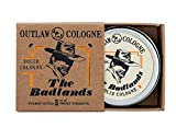 The Badlands Solid Cologne: Your smoky sidekick for a life of adventure - 1 oz Men's or Women's campfire cologne