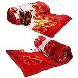 Little India Premium Comfort Designer Single Bed Blankets Pair 1022
