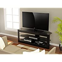 Z-Line Designs Maxine TV Stand, 55-Inch, Black