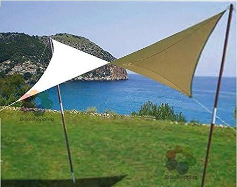 Tenda A Vela Quadrata : Vela ombreggiante ravello quadrata mt in polietilene alta