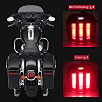 Eagle Claw Design Harley Tail Light 1 PCS, Black DOT Approved Brake Running Lights Motorcycle LED Taillight for Harley Sportster Dyna Softail Touring Road Glide Road King