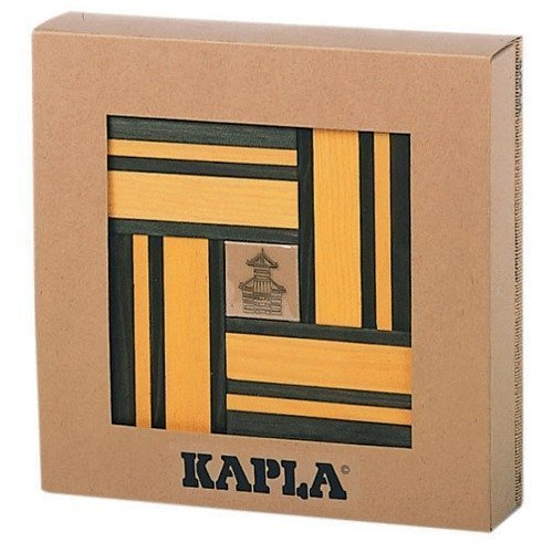 Kapla Yellow/Green Dual Colour Set with Free Design Book by KAPLA -  3028047