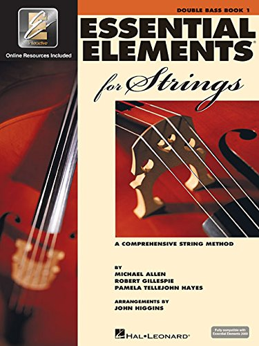 or Strings 2000 - Book 1 - Double Bass (A Comprehensive String Method) (Bass 1 Songbook)