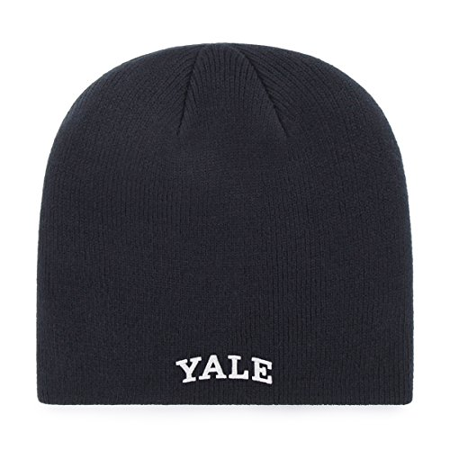 Baseball Yale University (OTS NCAA Yale Bulldogs Beanie Knit Cap, Navy, One Size)