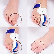 Healtheveryday® Night Time Splint Big Toe Straightener Bunion Hallux Valgus Corrector Regulator Stretcher Support Separators Foot Care Pain Relief