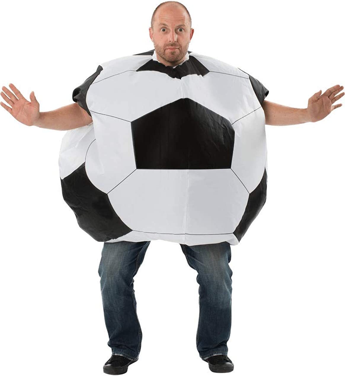 ORION COSTUMES Adult Inflatable Football Costume: Amazon.es: Ropa ...