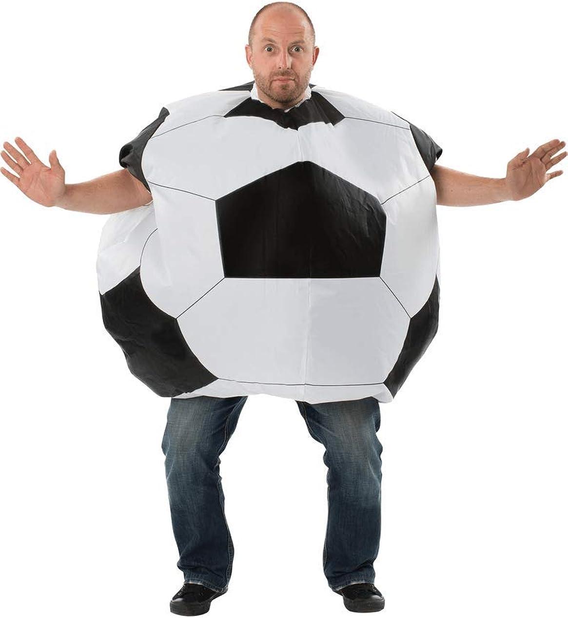 Disfraz de balón de fútbol hinchable para adulto: Amazon.es: Ropa ...