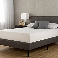 Rest easy with the memory foam support of the Sleep Master Memory Foam mattress from Zinus, pioneers in comfort innovation. The 12 Inch Memory Foam Mattress provides conforming comfort with a memory foam layer that molds to the natural shape ...