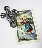 Driver's prayer Visor kit with holy card