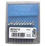 STW Brand New 1pkg. of 10 NOGA Deburring blades BK3010 - S150 Blade
