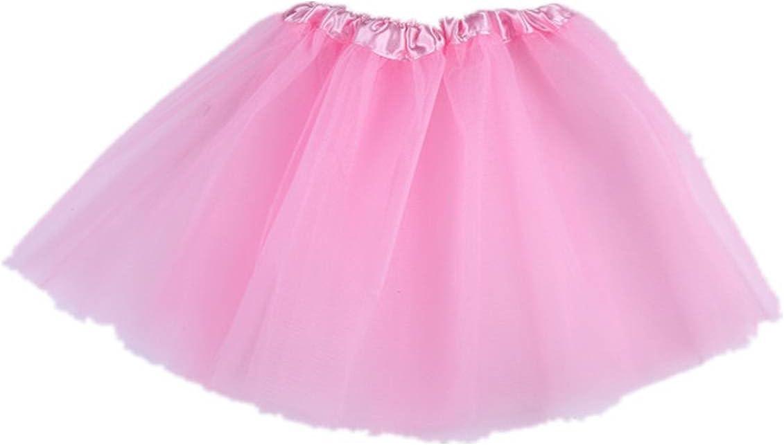 Tortoise /& Rabbit Baby Girls Ballet Dance Party Elastic Waist Tutu Skirt