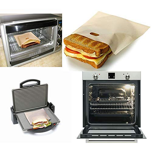 ekSel Non Stick Reusable Toaster Bags, Pack of 3 by ekSel (Image #4)