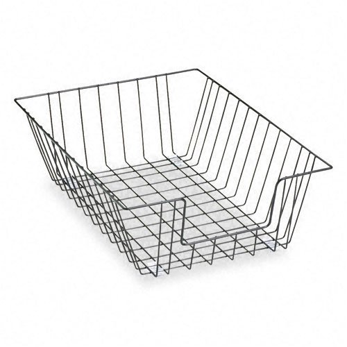 Fellowes : Workstation Legal Size Desk Tray Organizer, Two-Tier, Wire, Black -:- Sold as 2 Packs of - 1 - / - Total of 2 Each