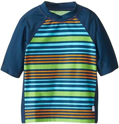 i play. Baby Boys' Unisex Short Sleeve Rash Guard Upf 50+