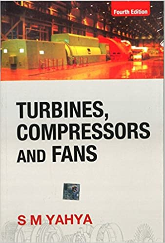 Turbines Compressors And Fans Yahya Pdf