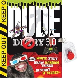 Dude Diary 3.0: Write Stuff Draw Random Things Destroy If Needed Again!