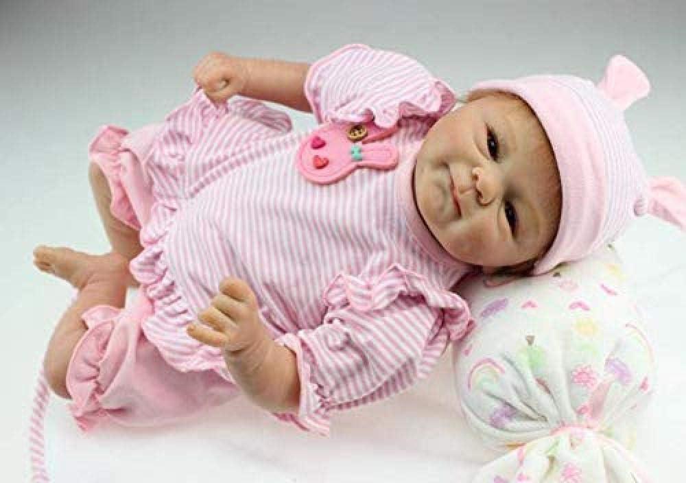 Silicone Doll Xx Reborn Baby Dolls Handmade Baby Dolls Vinyl Full Body Creation Dummy Free Magnet Dummy Toy17 43 Cm Amazon De Küche Haushalt