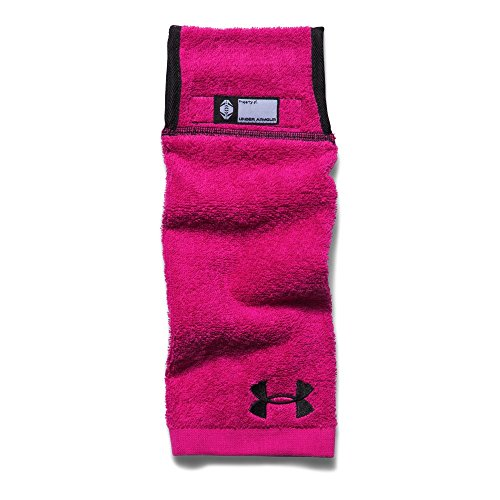 Under Armour Mens Undeniable Player Towel, Tropic Pink/Black, One Size (Best Exercises For Football Players)