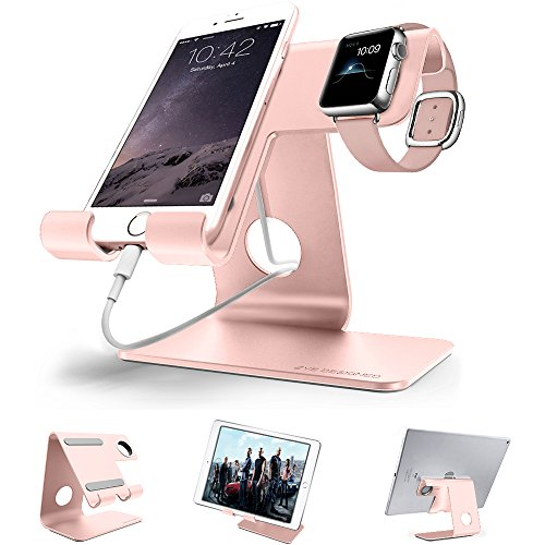 Universal 2 in 1 Desktop cell phone stand tablet stand holder,ZVE aluminum...