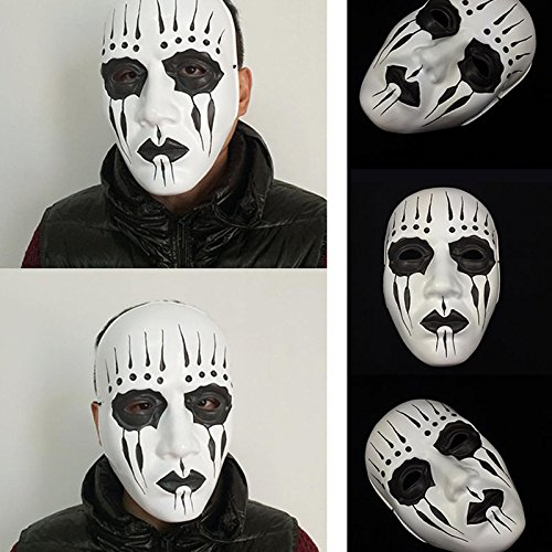 Best And Worst Cosplay Costumes (NPLE--Cool Slipknot Band Joey Unique Mask Masquerade Cosplay Party Costume Dress Hot)