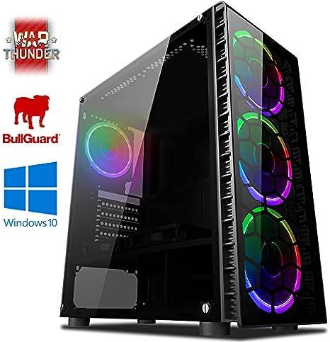 VIBOX Precision 6 Gaming PC Ordenador de sobremesa con War Thunder ...