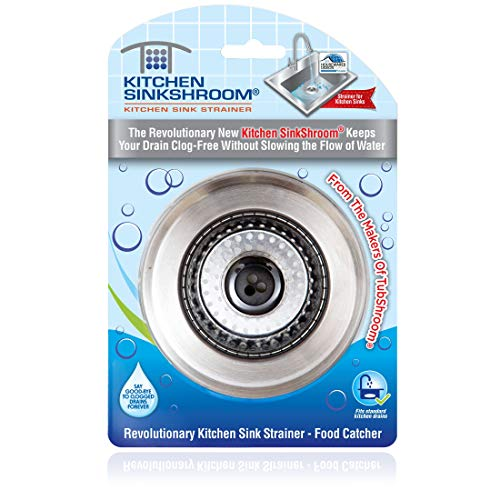 SinkShroom Revolutionary Clog Free Stainless Strainer