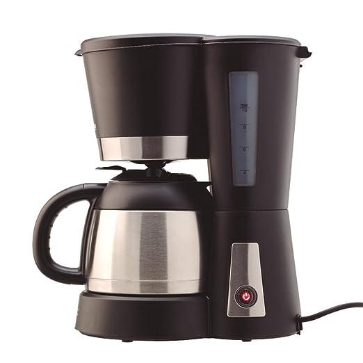 Solac 238588 CF4025 Stillo Termo-Cafetera goteo con jarra térmica (capacidad de 1 L), color, 800 W, 1 Liter, Negro, Acero inoxidable