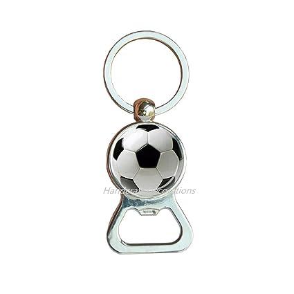 Amazoncom Soccer Bottle Opener Keychain Soccer Ball Bottle