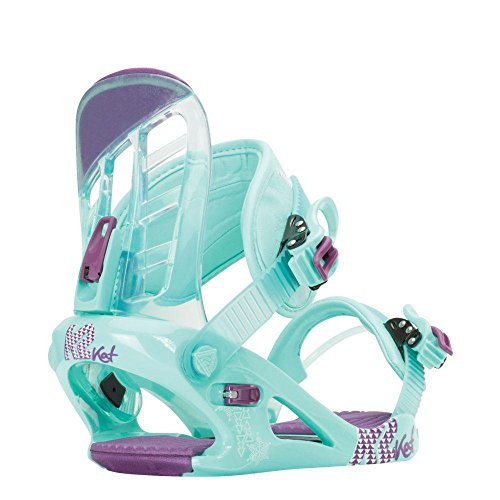Girls Snowboard Binding - K2 Kat Snowboard Bindings Girls Sz S (2-5)