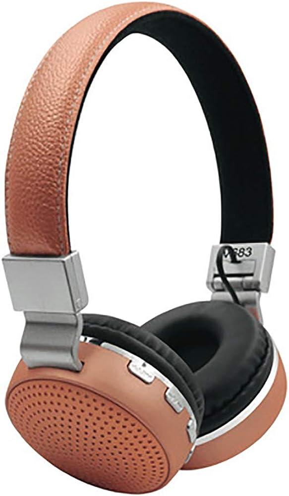 FANLI Noise Cancelling Headphones Soft Ear Cushions Ear Hood Headwear Bluetooth Wireless Hd Sound Bass Hd Sound Portable and Lightweight for Phone Laptop