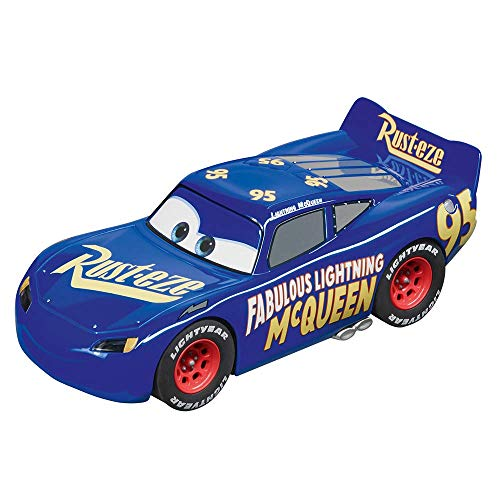 Carrera Evolution Analog Slot Car Racing Vehicle - 27585 Fabulous Lightning McQueen - Blue (1:32 Scale) from Carrera