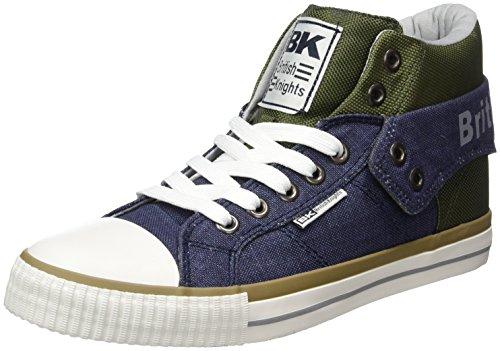 British Knights Roco - Zapatillas Hombre Blau (navy/green/lt grey)